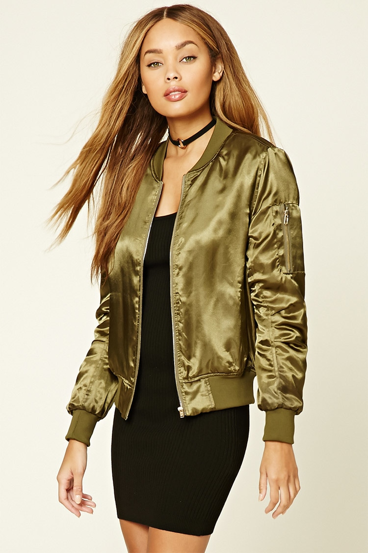 Olive Green Jacket Forever 21