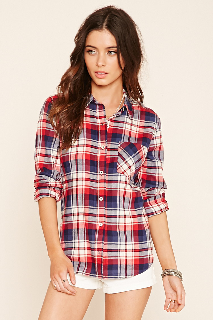 Plaid Flannel Shirt Forever 21 Sweater Vest