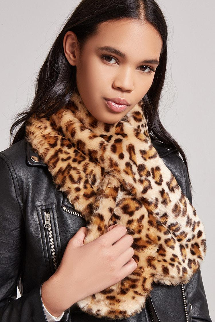 Look - Print Leopard scarf forever 21 video