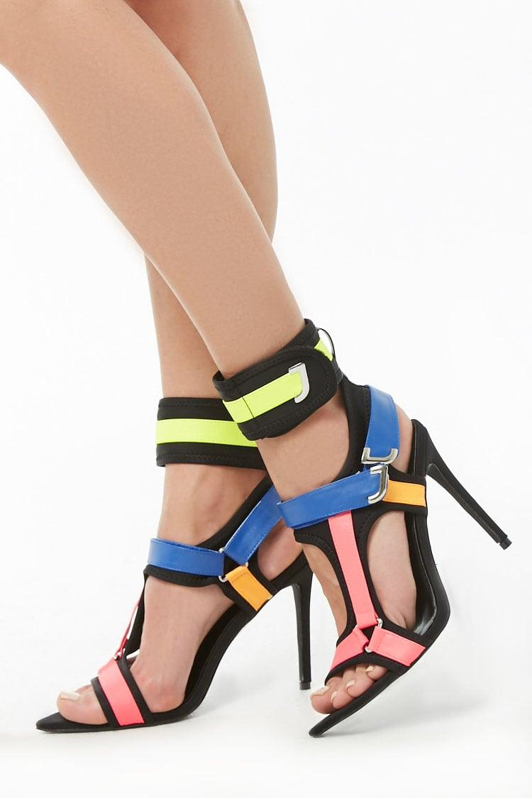 ffa55fd3bfa Lyst - Forever 21 Multicolor Stiletto Heels in Black