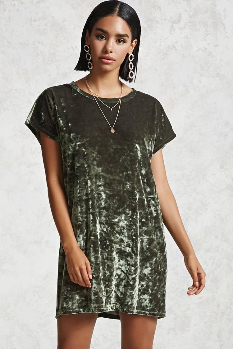 735caab343868 Gallery. Women's T Shirt Dresses Women's Velvet Dresses