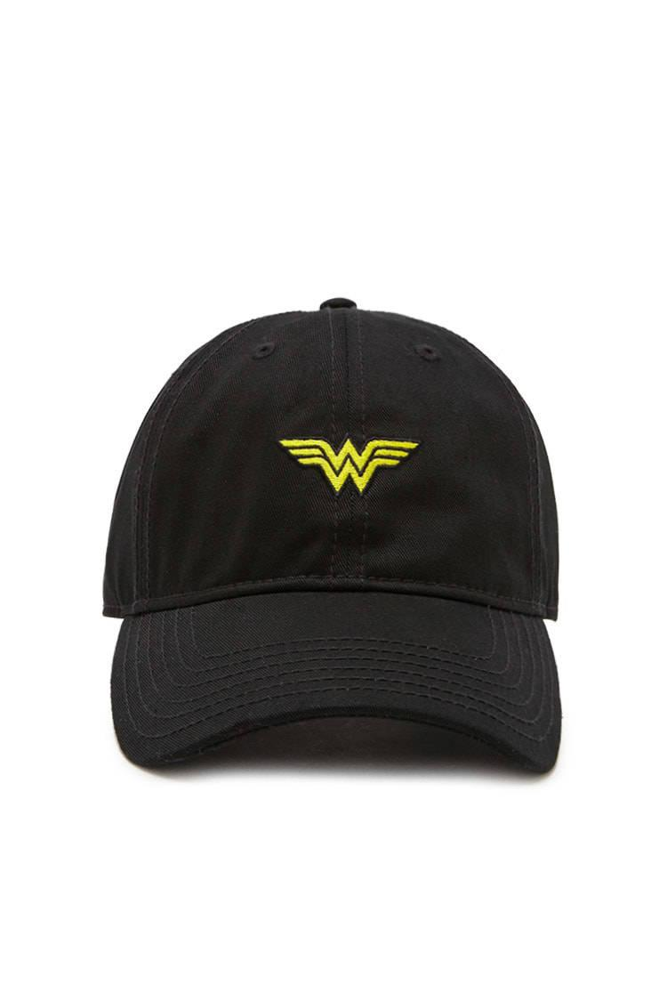 a79d06bf62f14 Forever 21 Wonder Woman Baseball Cap in Black for Men - Lyst