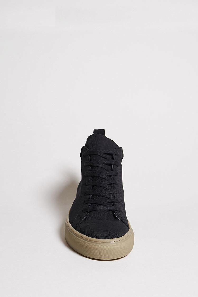 71605447ff9 Lyst - Forever 21 Men Supply Lab High-top Sneakers in Black for Men
