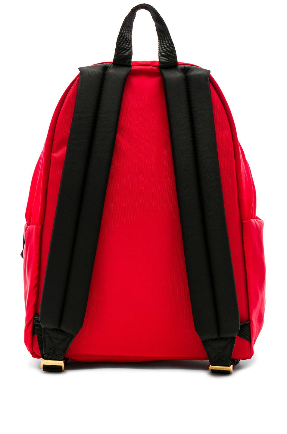 6a70a0705ba Lyst - Eastpak By Undercover Satin Padded Pak'r in Red for Men