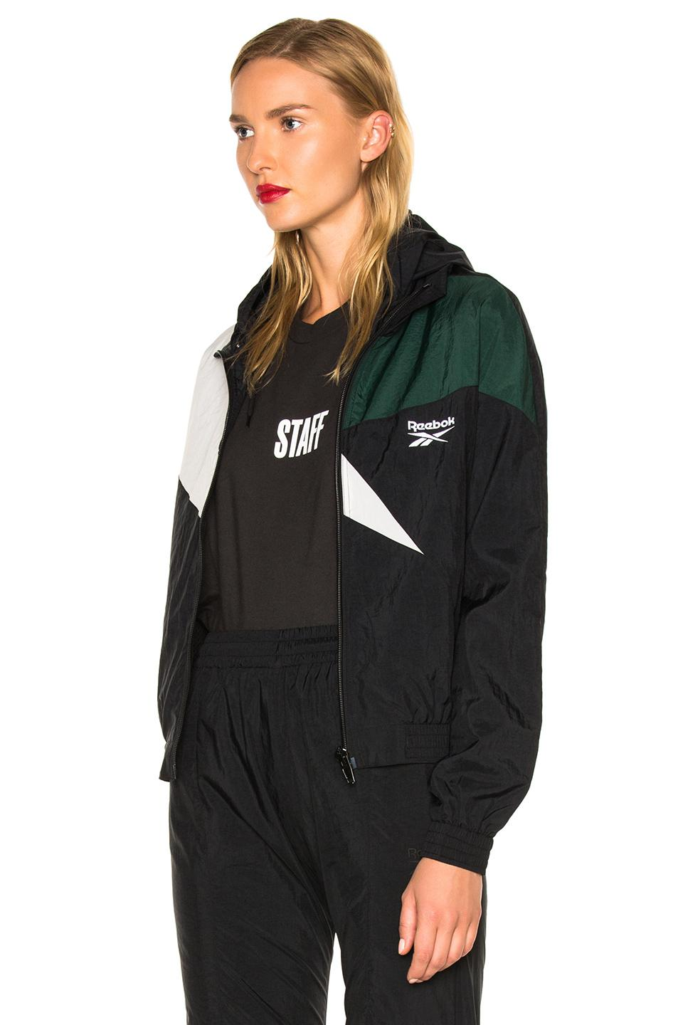 Lyst Vetements X Reebok Fitted Track Jacket In Black For Men