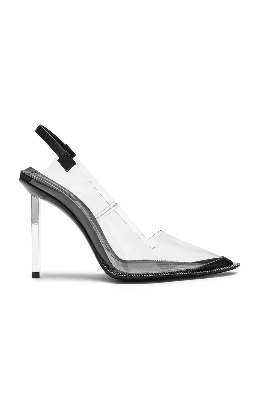 c604c156f57e Lyst - Alexander Wang Marlow Heel in Black