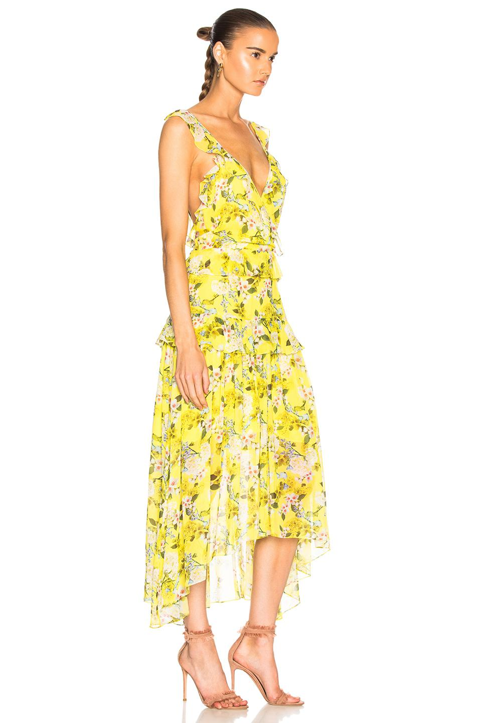 Marissa Webb Kaya Dress in Yellow - Save 4.899777282850778% - Lyst