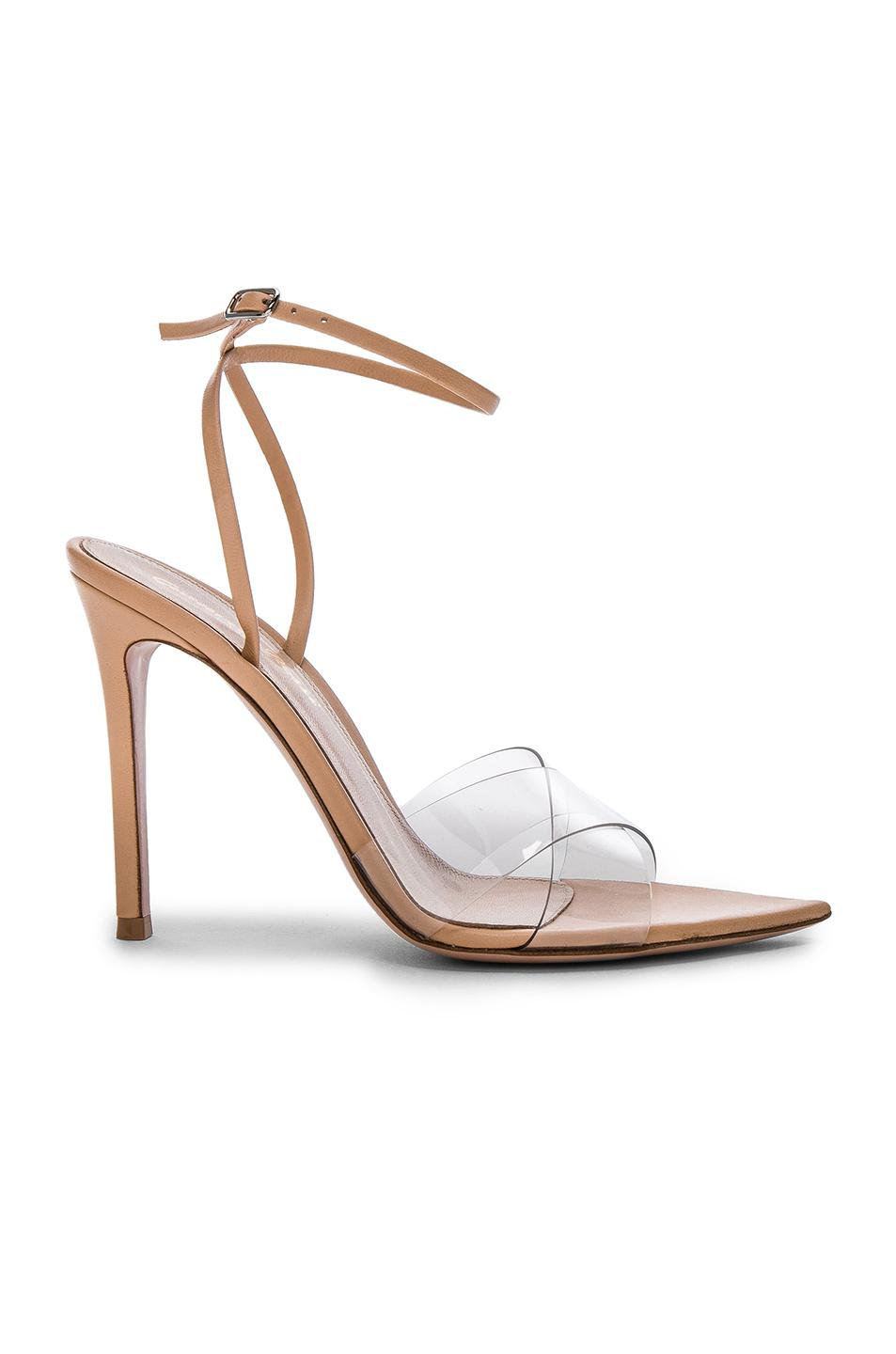 Gianvito Rossi Crossover Ankle Strap Sandals cheap sale shop where to buy sale for nice cheap online store Manchester collections cheap online Mlou3c