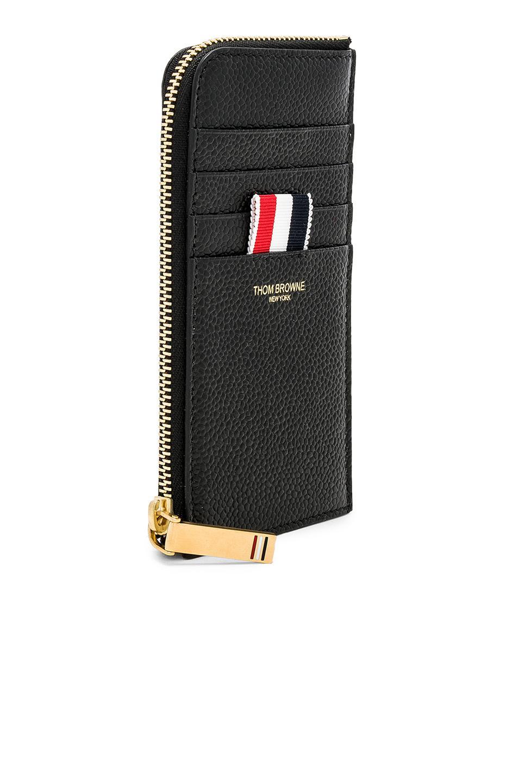 half zip around wallet Thom Browne wMB2A