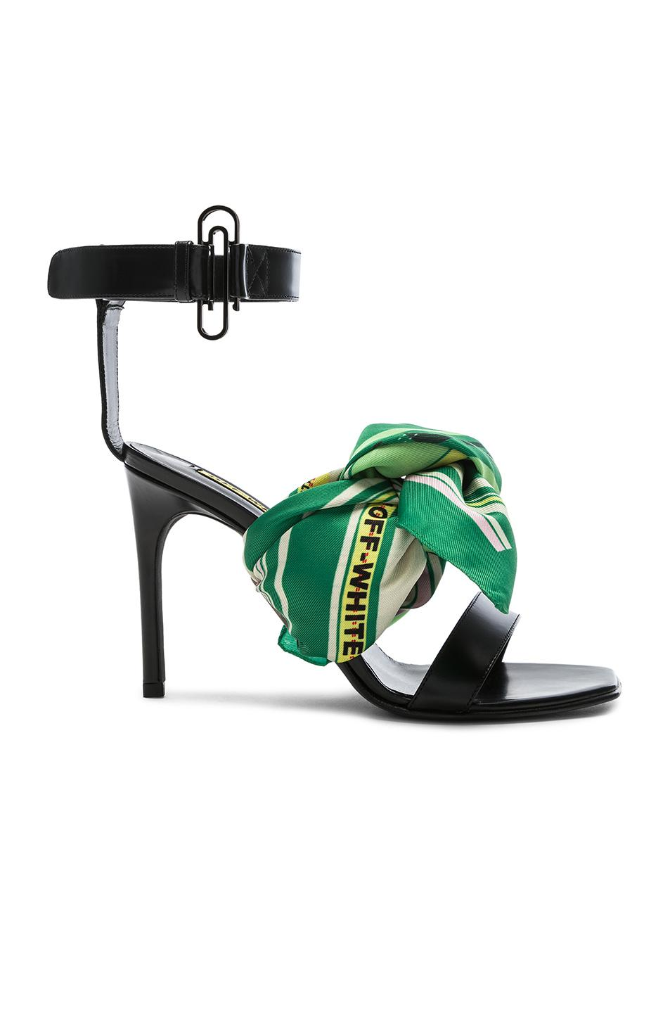 OFF-WHITE Scarf Sandal in , .