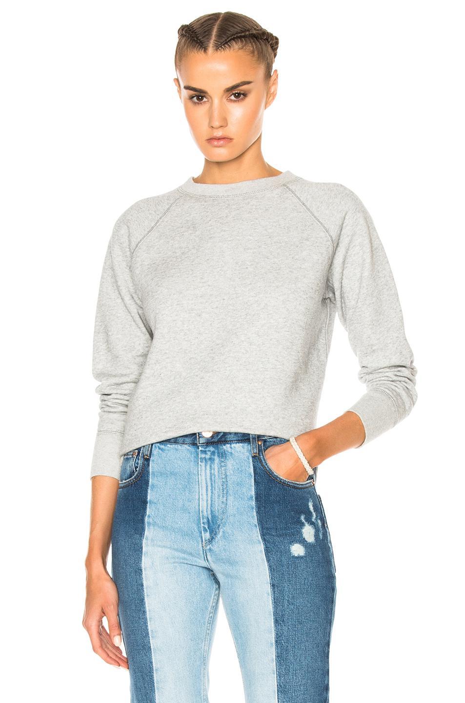 toile isabel marant billy sweatshirt in gray lyst. Black Bedroom Furniture Sets. Home Design Ideas