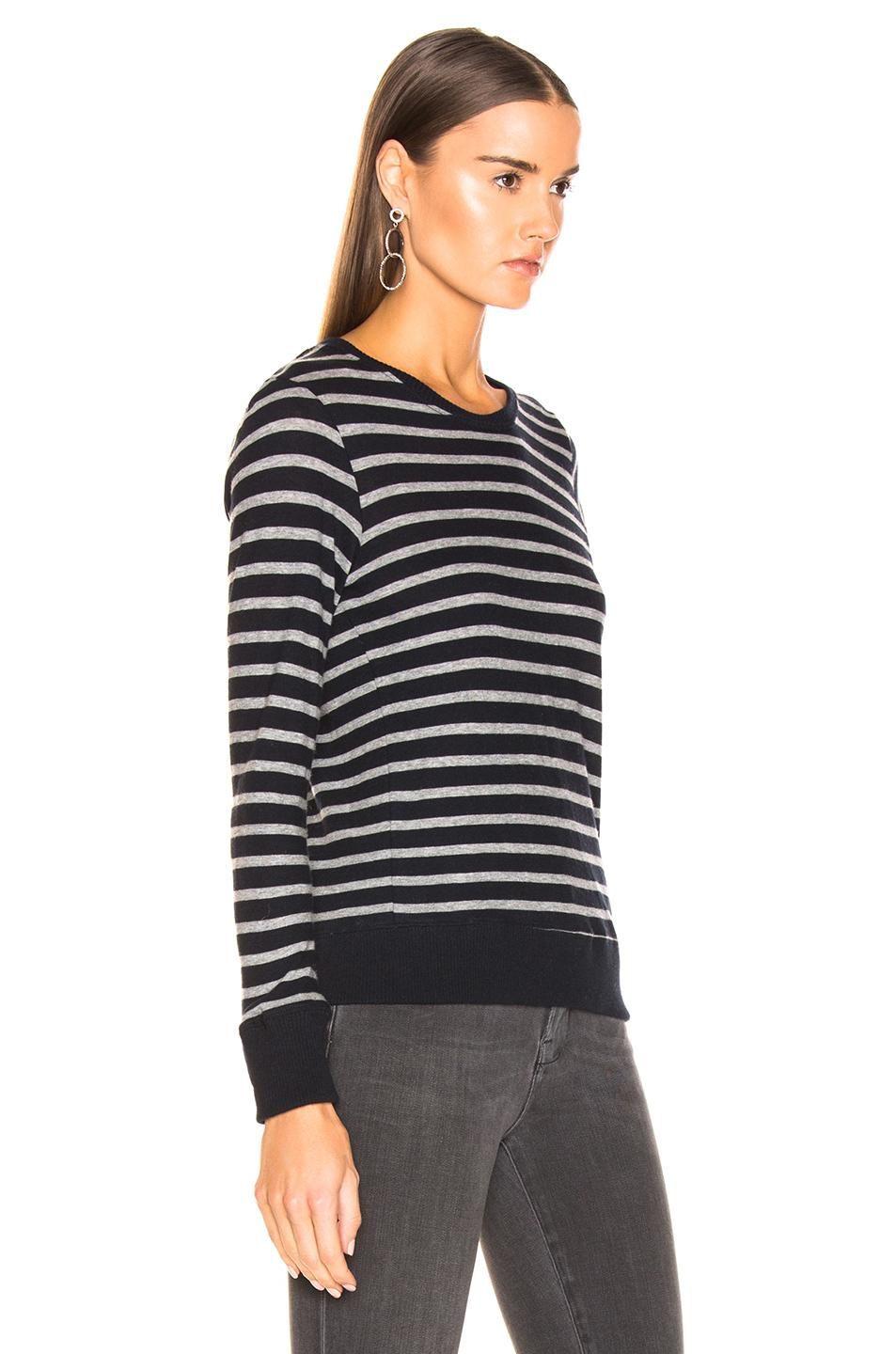Enza Costa - Black Cashmere Easy Sweatshirt - Lyst. View fullscreen 3f2456ecc