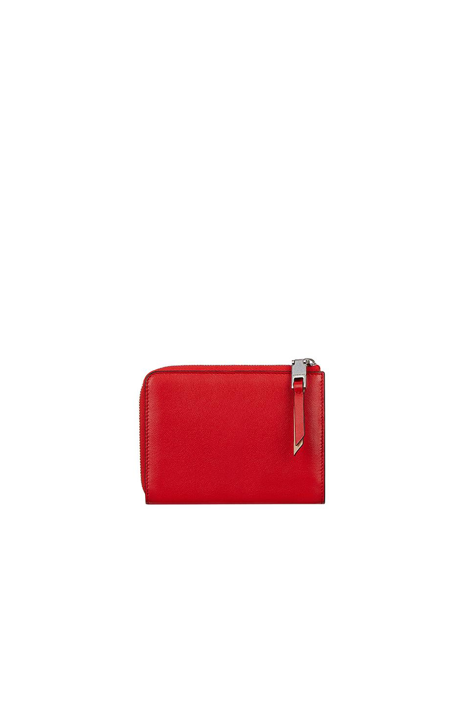 Givenchy - Red Medium Emblem Zip Wallet - Lyst. View fullscreen 7175f58cb4615