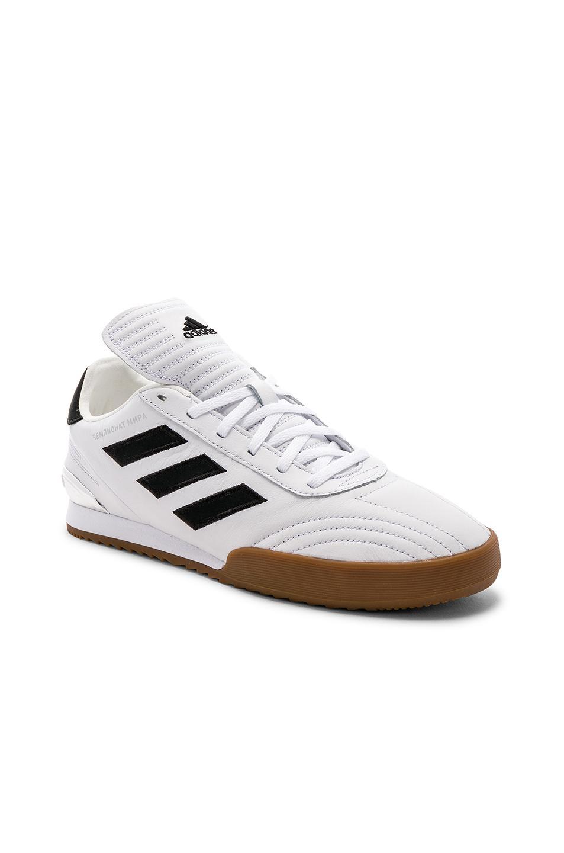 new styles 94a00 6bcb0 Gosha Rubchinskiy. Mens White X Adidas Copa Wc