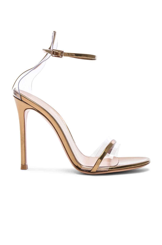 5884ae2f0 Lyst - Gianvito Rossi Leather Plexi G-string Heels