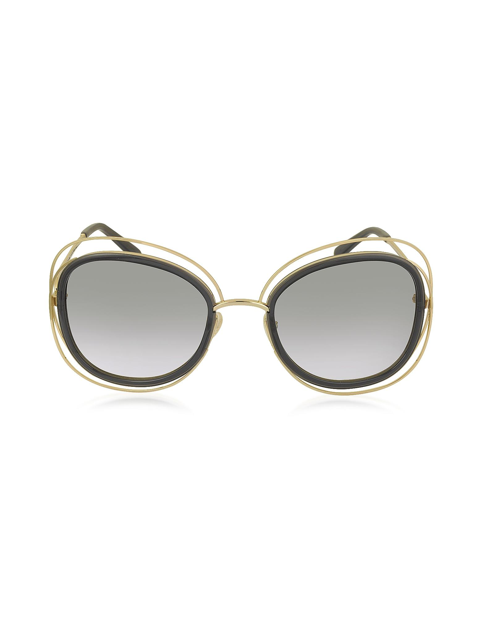 937d7bb9cf99 Chloé Carlina Ce 123s Square Oversized Acetate   Metal Women s ...