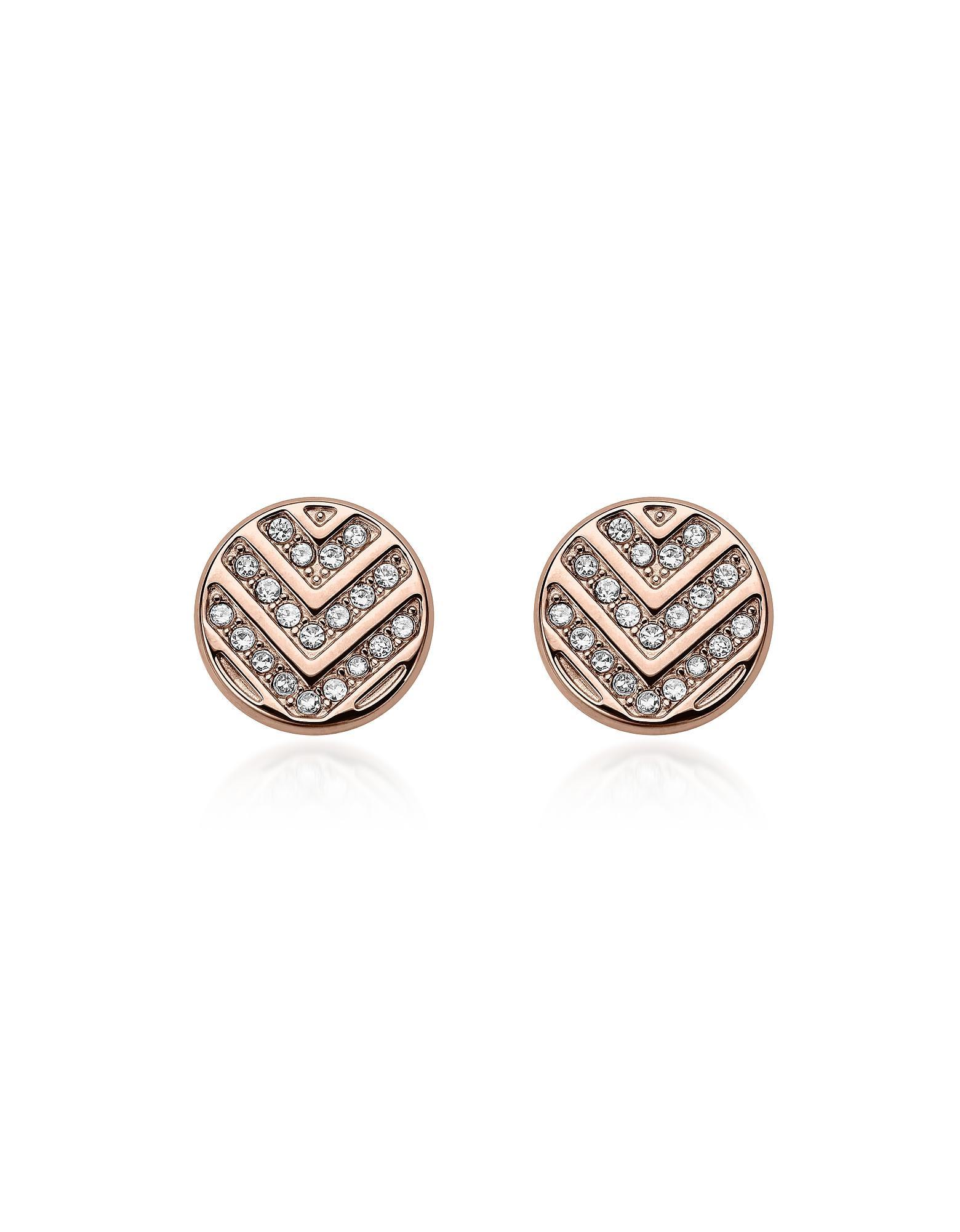 Fossil Women Stainless Steel Stud Earrings - JF02906791 ENsNUQgC
