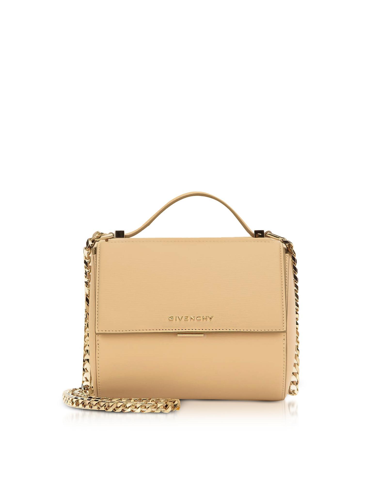 Lyst - Givenchy Light Beige Pandora Box Crossbody Bag in Natural 52a5d2c7eabc9