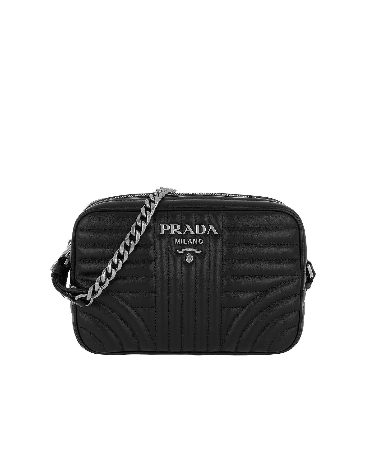 56f5c17e8073 Prada Diagramme Large Camera Bag Black2 in Black - Save 25% - Lyst