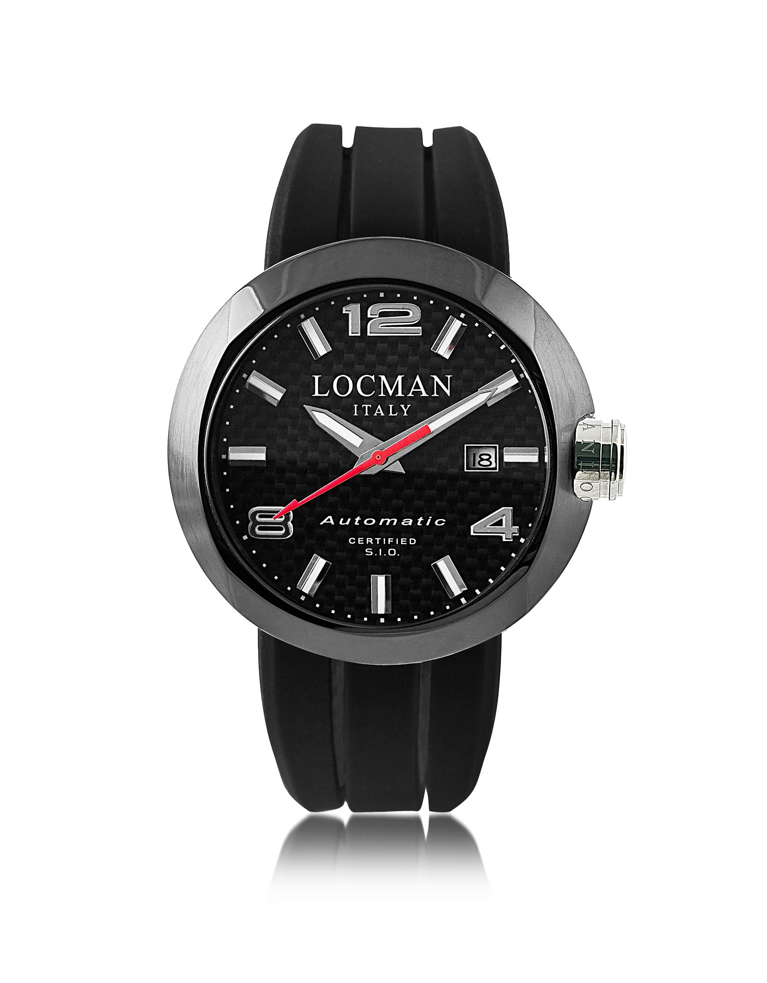 lyst watches in black maserati pvd watch steel stainless unisex potenza accessories