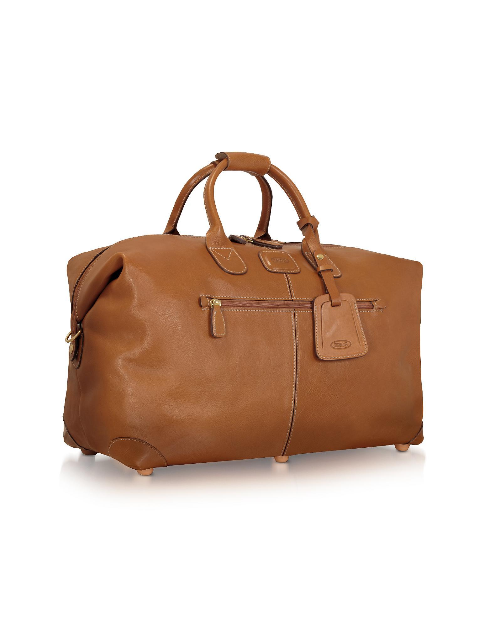 36e73db4efc1 Bric S Life Pelle - Medium Leather Travel Bag in Brown for Men - Lyst
