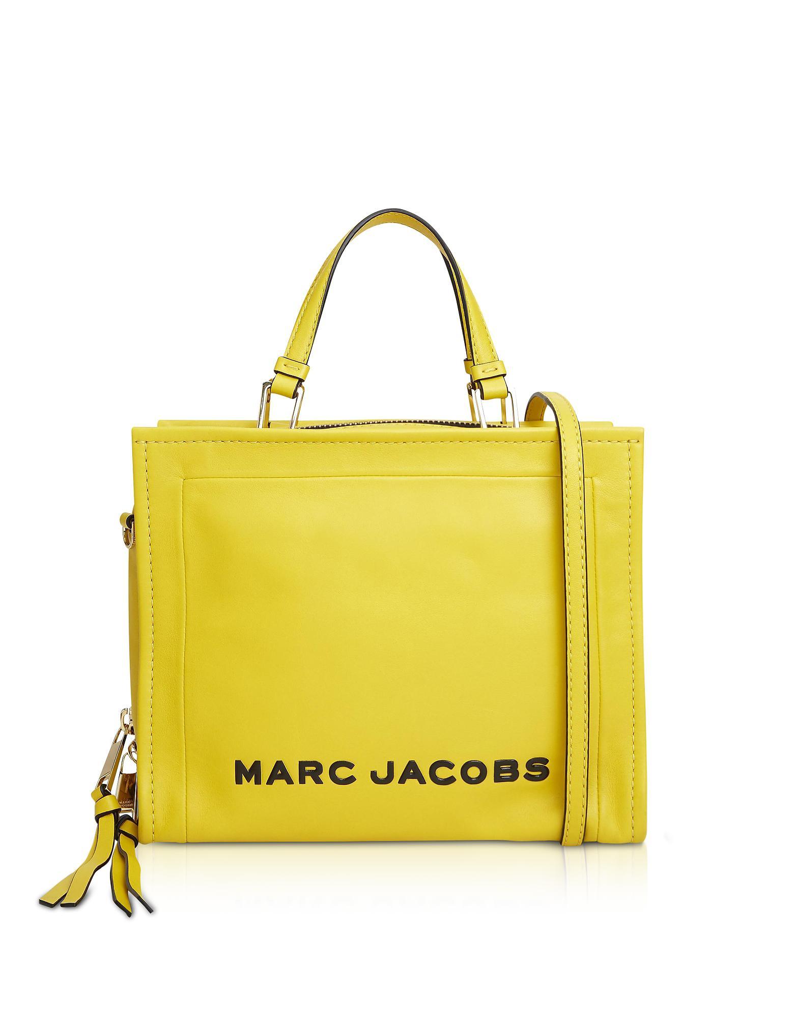 Marc Jacobs The Box Shopper Bag in Yellow - Lyst 4e0d70871de16