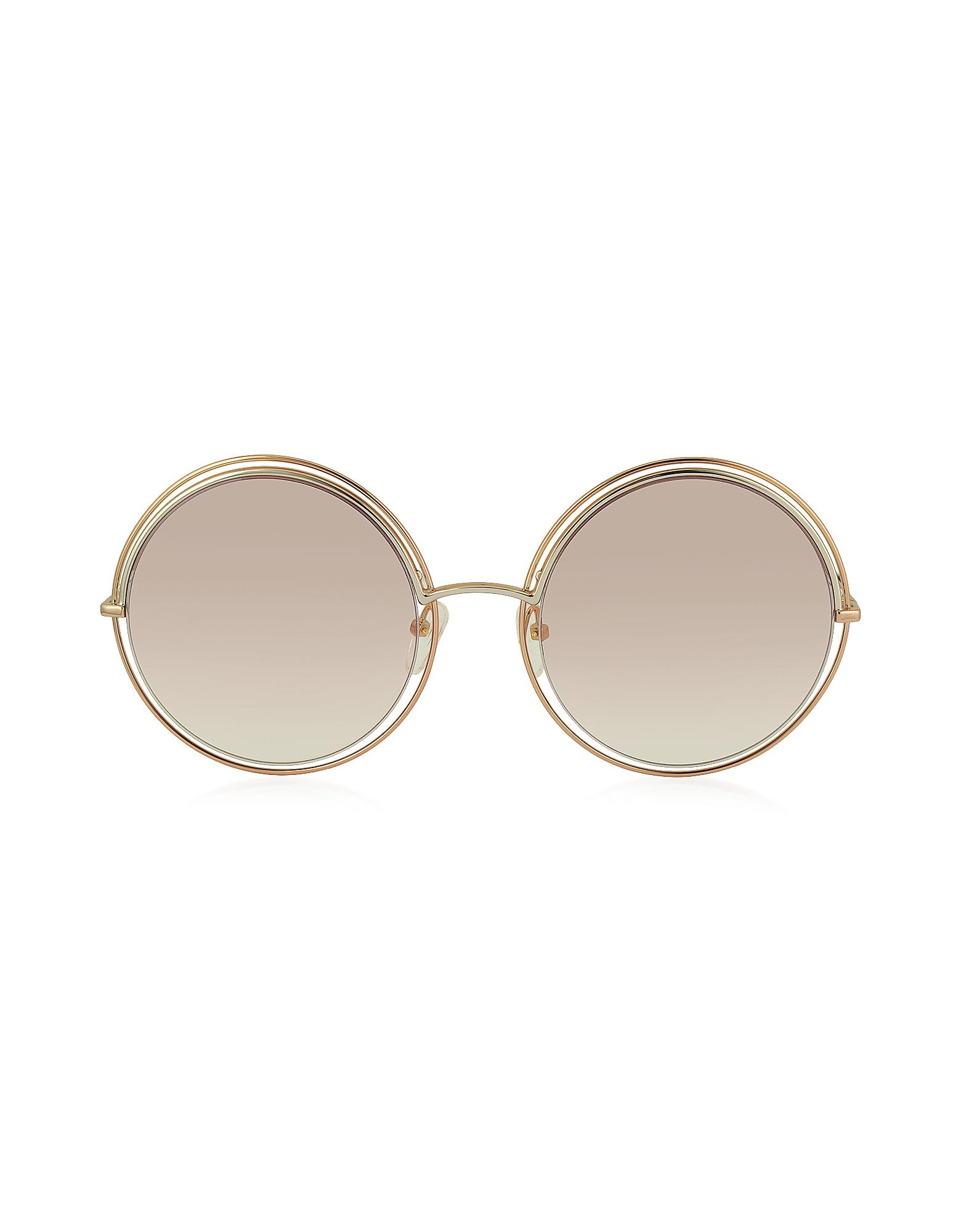 f6551fe666 Marc Jacobs Marc 11 s Metal   Acetate Round Oversized Women s ...