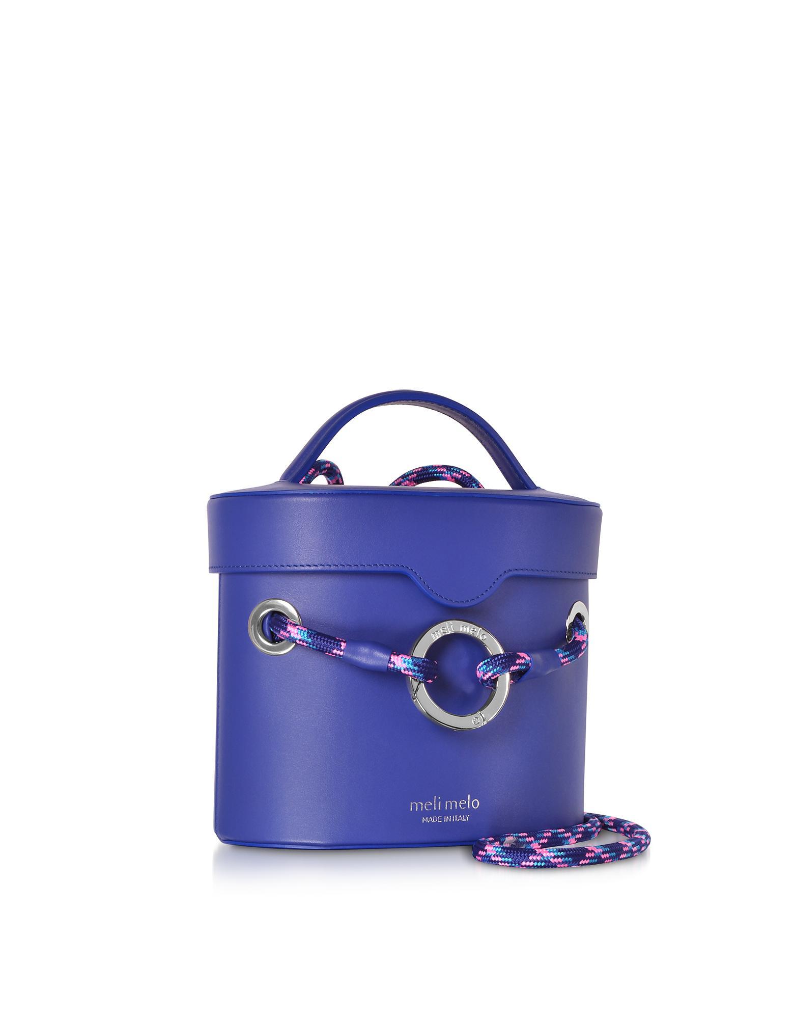 Lyst - Meli Melo Majorelle Blue Nancy Shoulder Bag in Blue 55ba88f65fea0