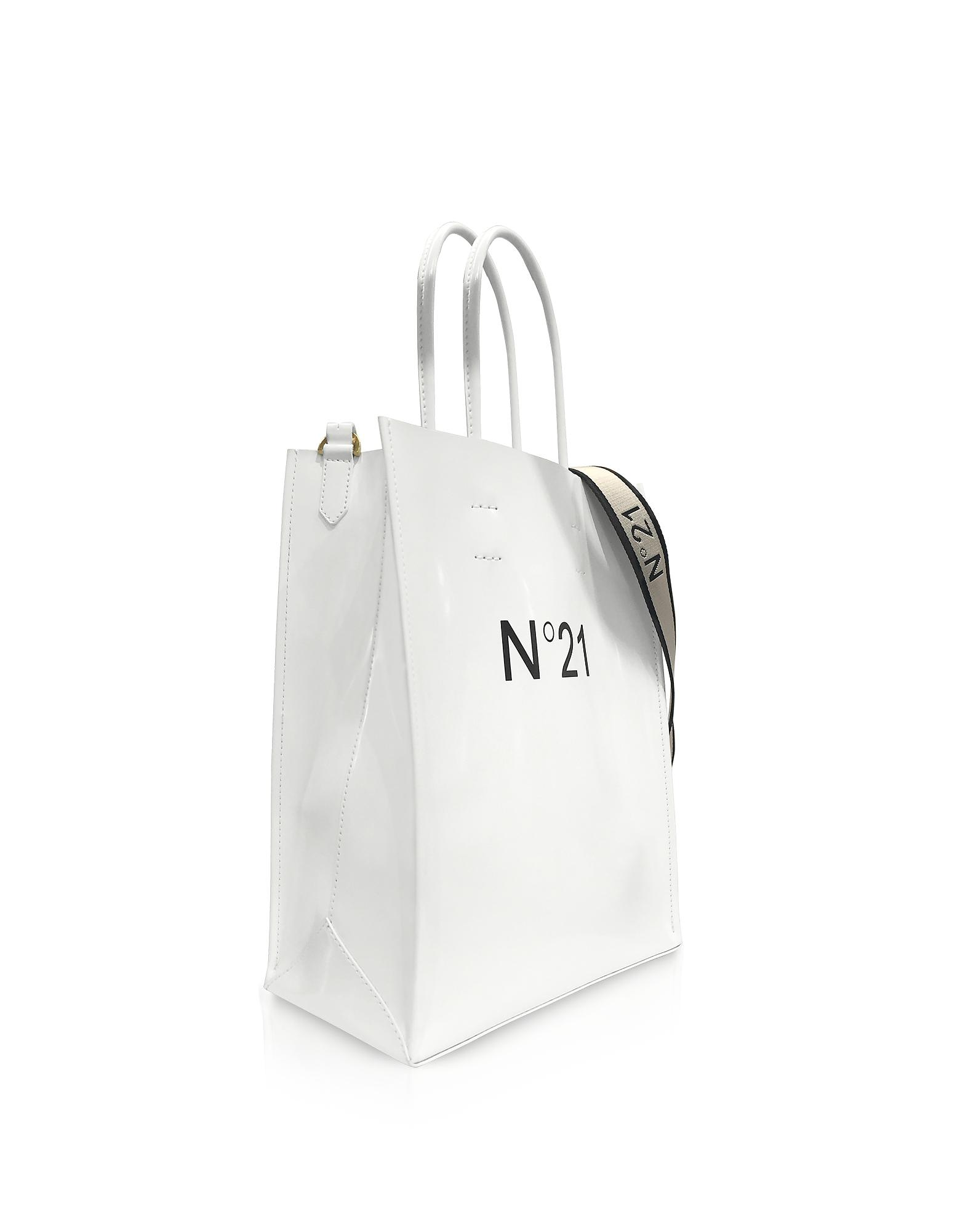 N°21 Logo Shopping Tote in White - Save 33% - Lyst db75e4f5c9