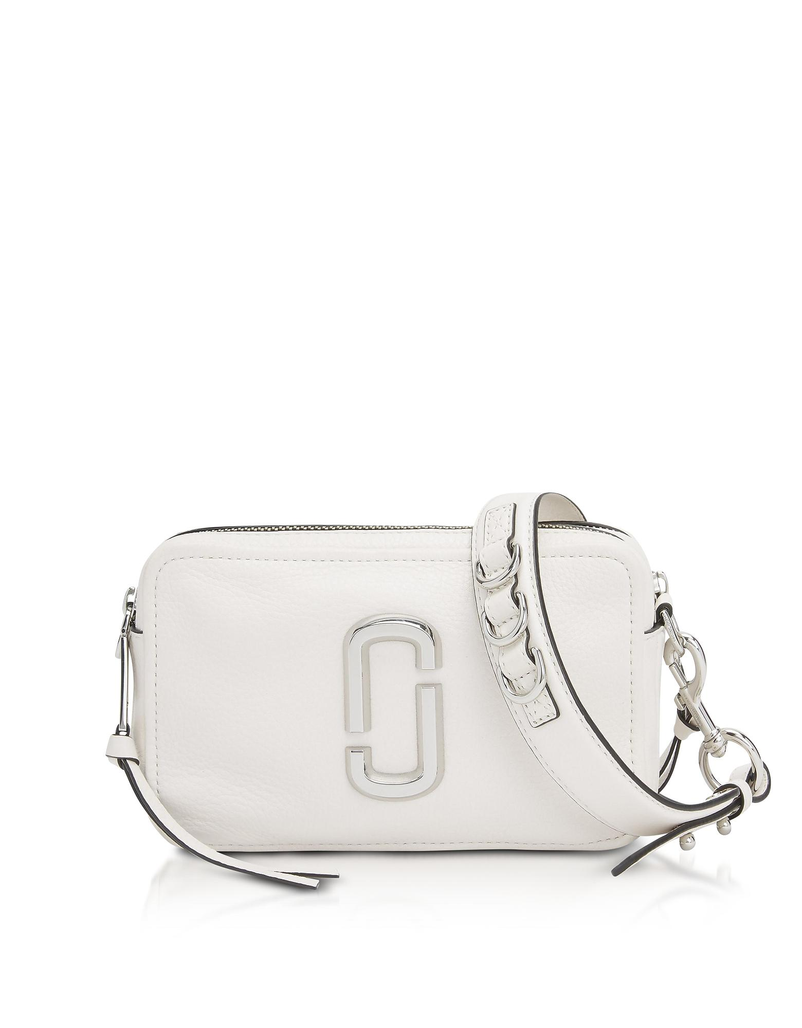 Lyst - Marc Jacobs The Softshot 21 Shoulder Bag in White - Save 22% c1d7c15aa02a8