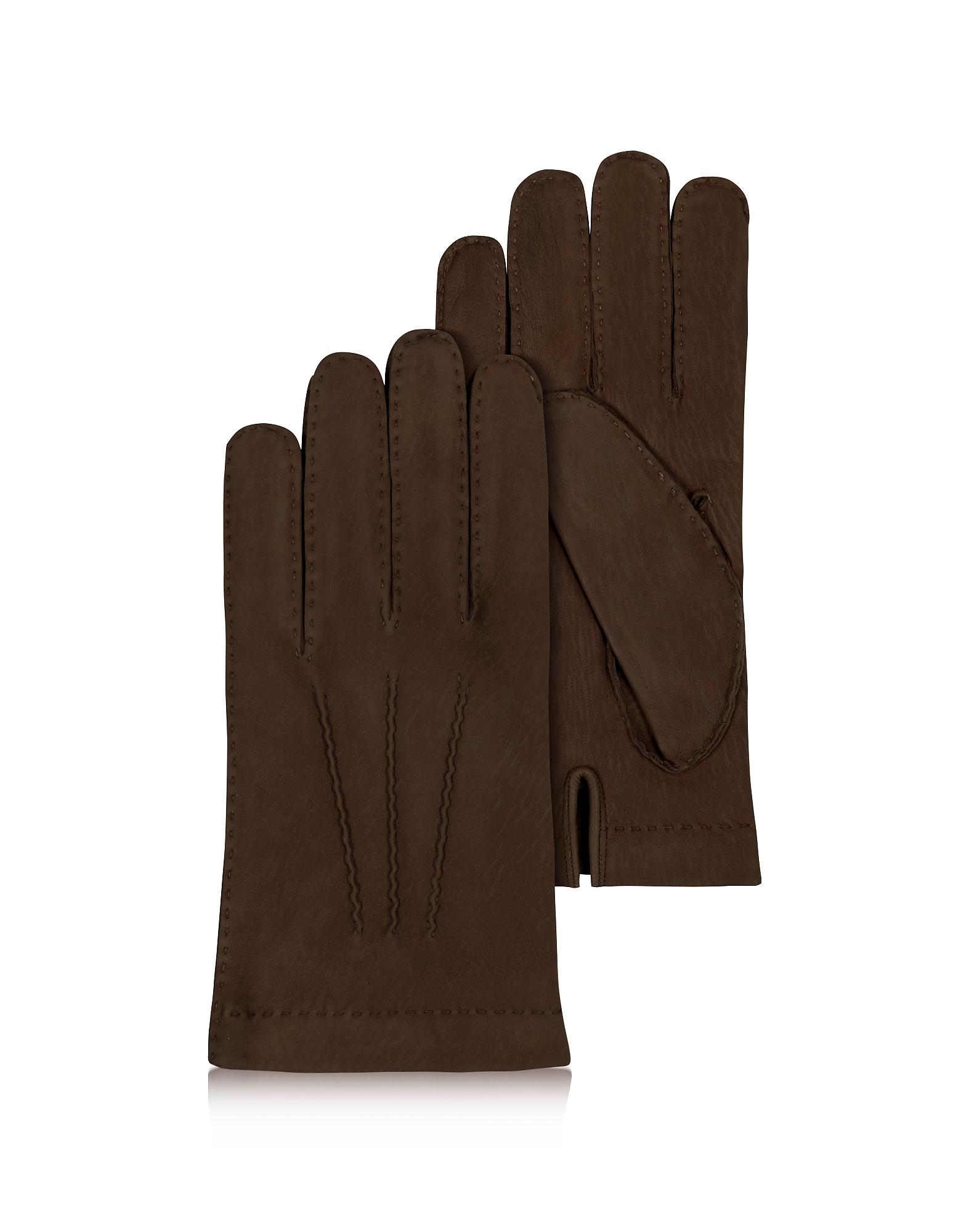 382d6af9906f52 FORZIERI Herren Handschuhe aus Kaschmir und italienischem Kalbsleder ...