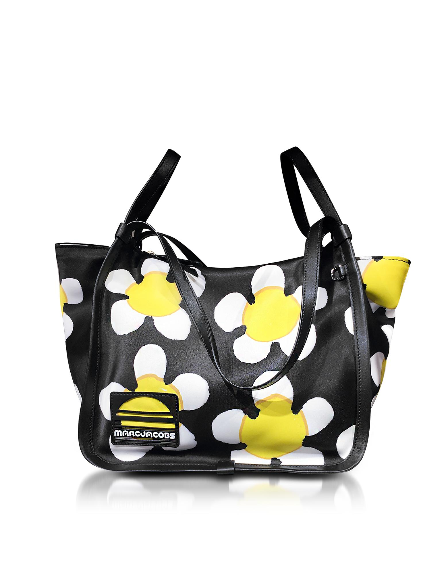 Marc Jacobs Black And Yellow Daisy Sport Tote in Yellow - Lyst 09f3b9f370c42