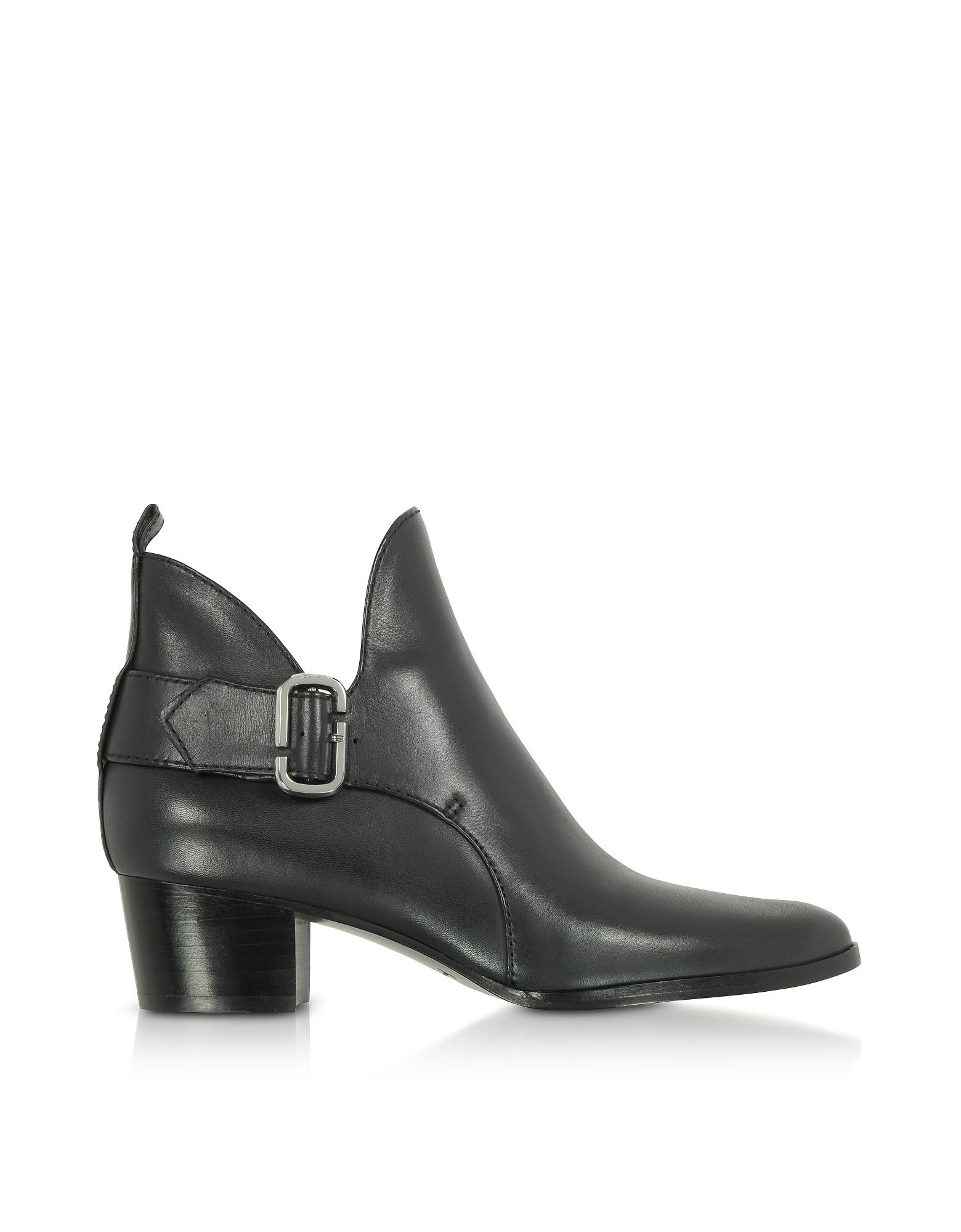 Marc Jacobs Shoes, Leather Ginger Interlock Ankle Boots