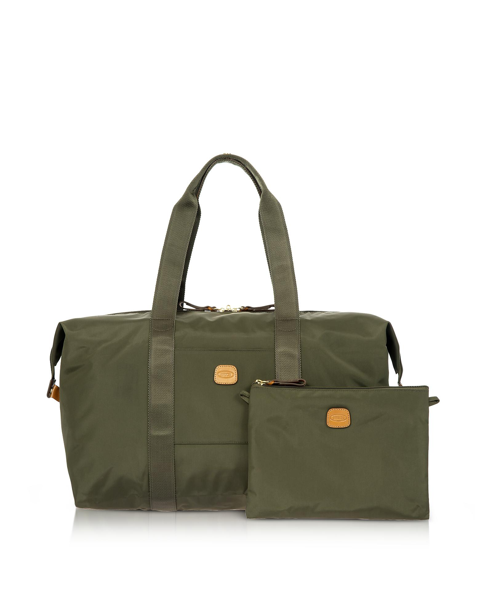 b04d27998ff2 Bric s X-bag Medium Foldable Last-minute Holdall In A Pouch in Green ...