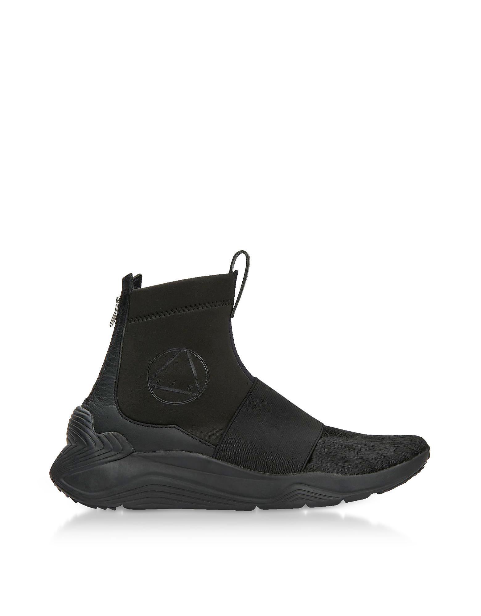 Alexander McQueen Black Hikaru High-Top Sneakers