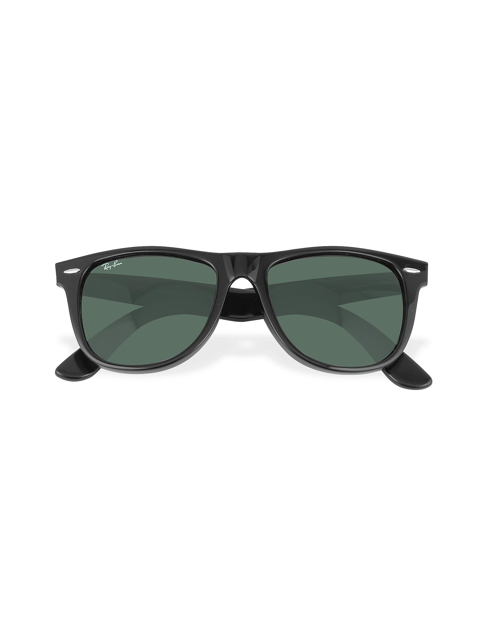 287cf24194 ... denmark ray ban original wayfarer square acetate sunglasses in black  for men lyst 19fbf ae309
