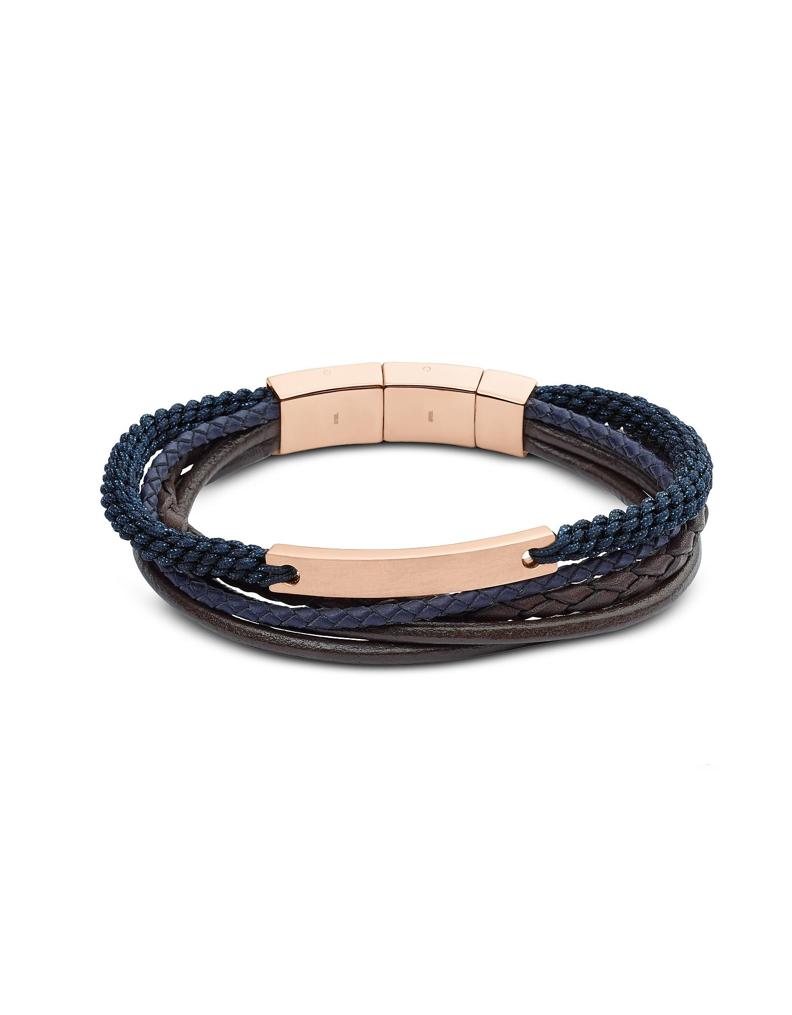 0bc9f7586a5b JF02379791 Vintage casual Men s Bracelet Fossil de hombre de color ...