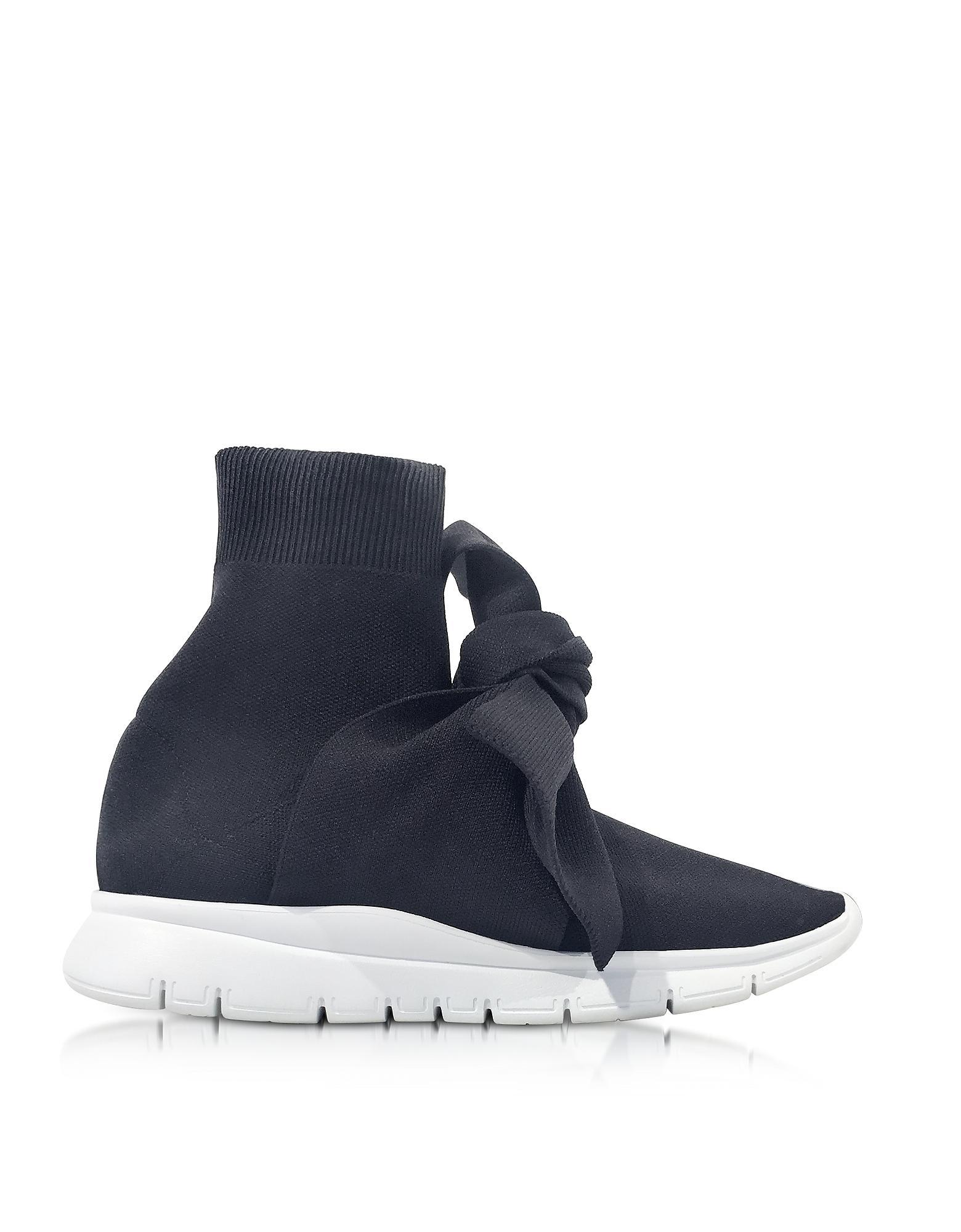 Black Knot Sock High-Top Sneakers Joshua Sanders KMbBye73bO
