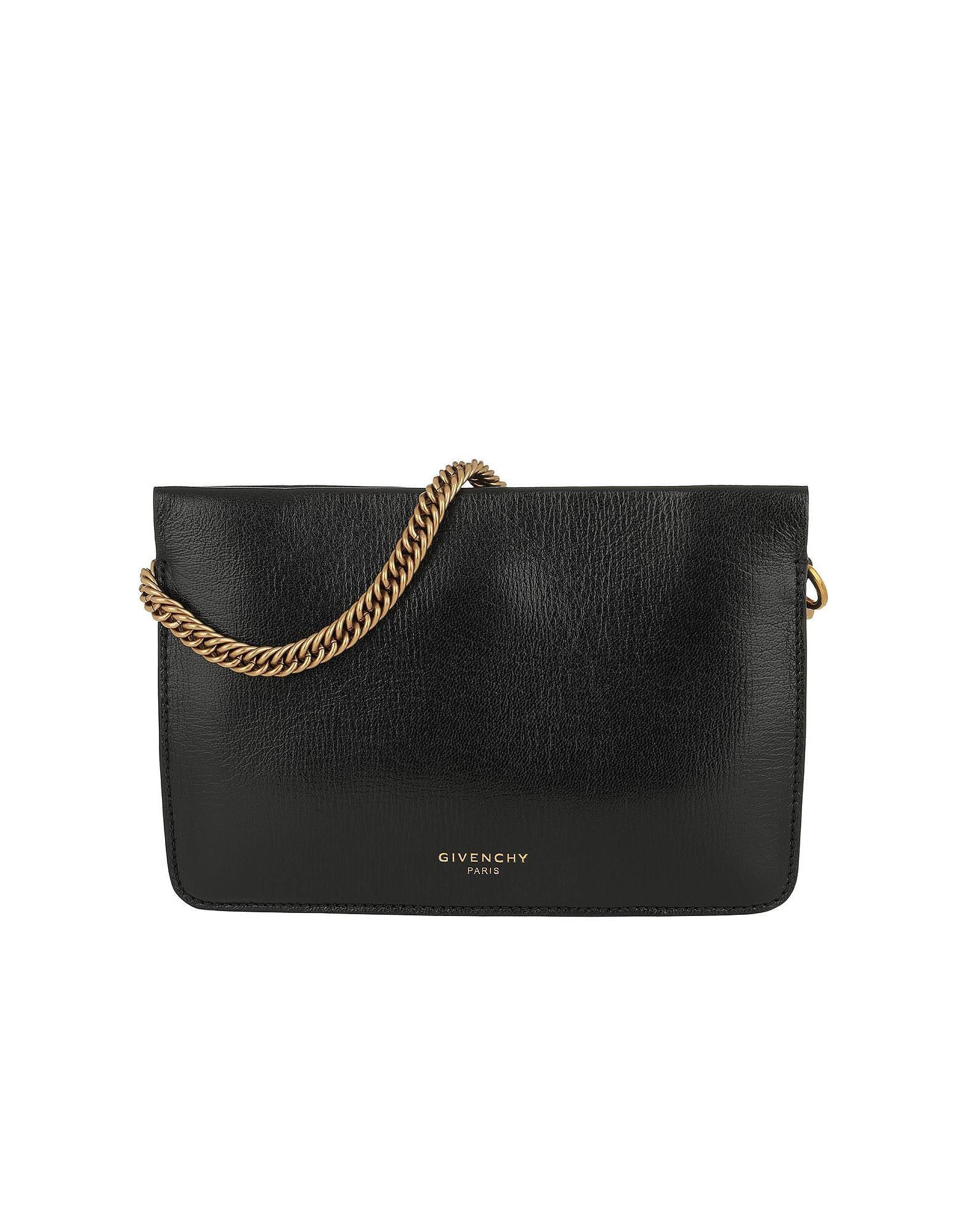 Lyst - Givenchy Cross3 Bag Grained Leather Suede Black in Black 9c237eb8b713a