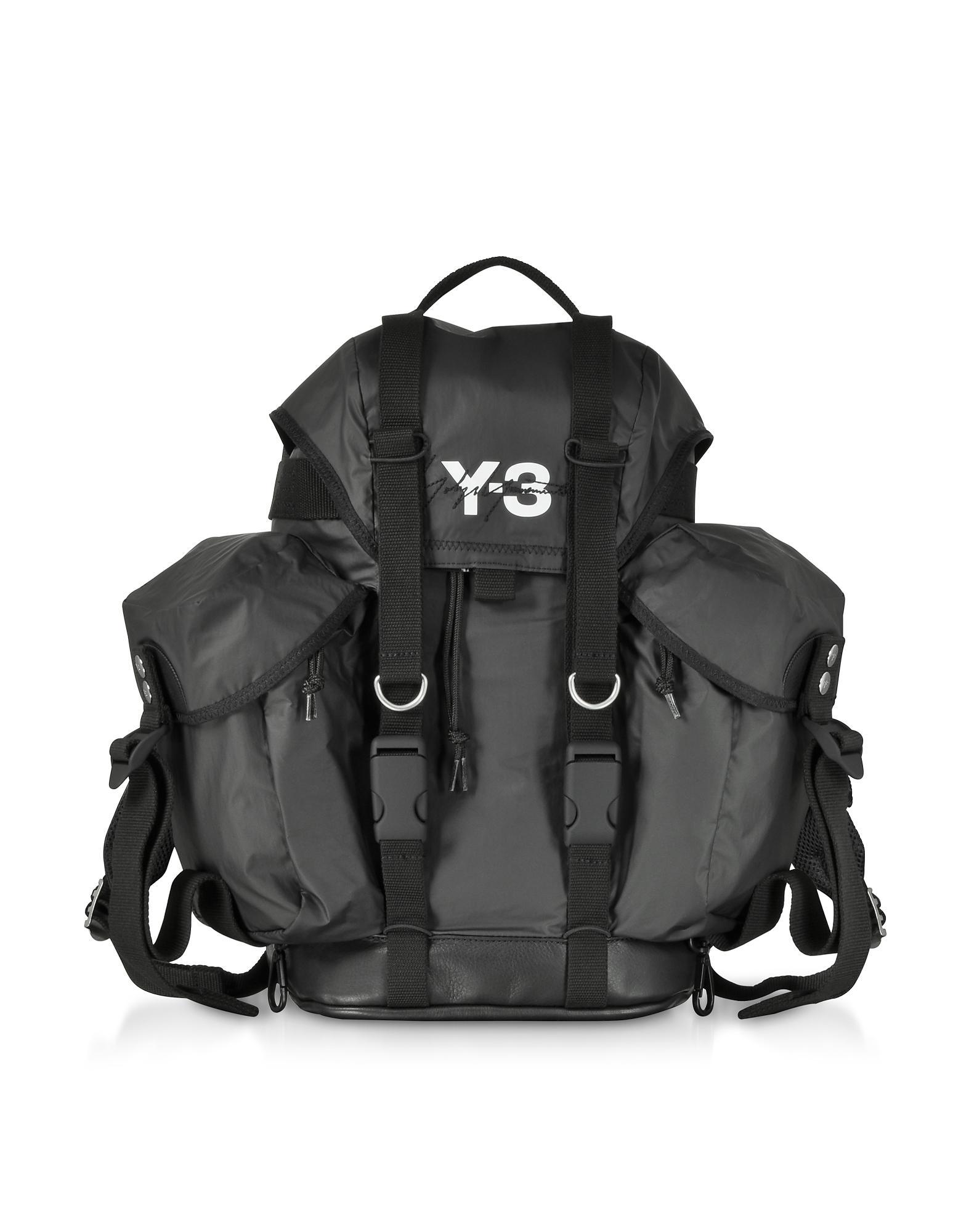 Lyst - Y-3 Black Nylon Xs Utility Backpack in Black for Men 0bd4a98094df2