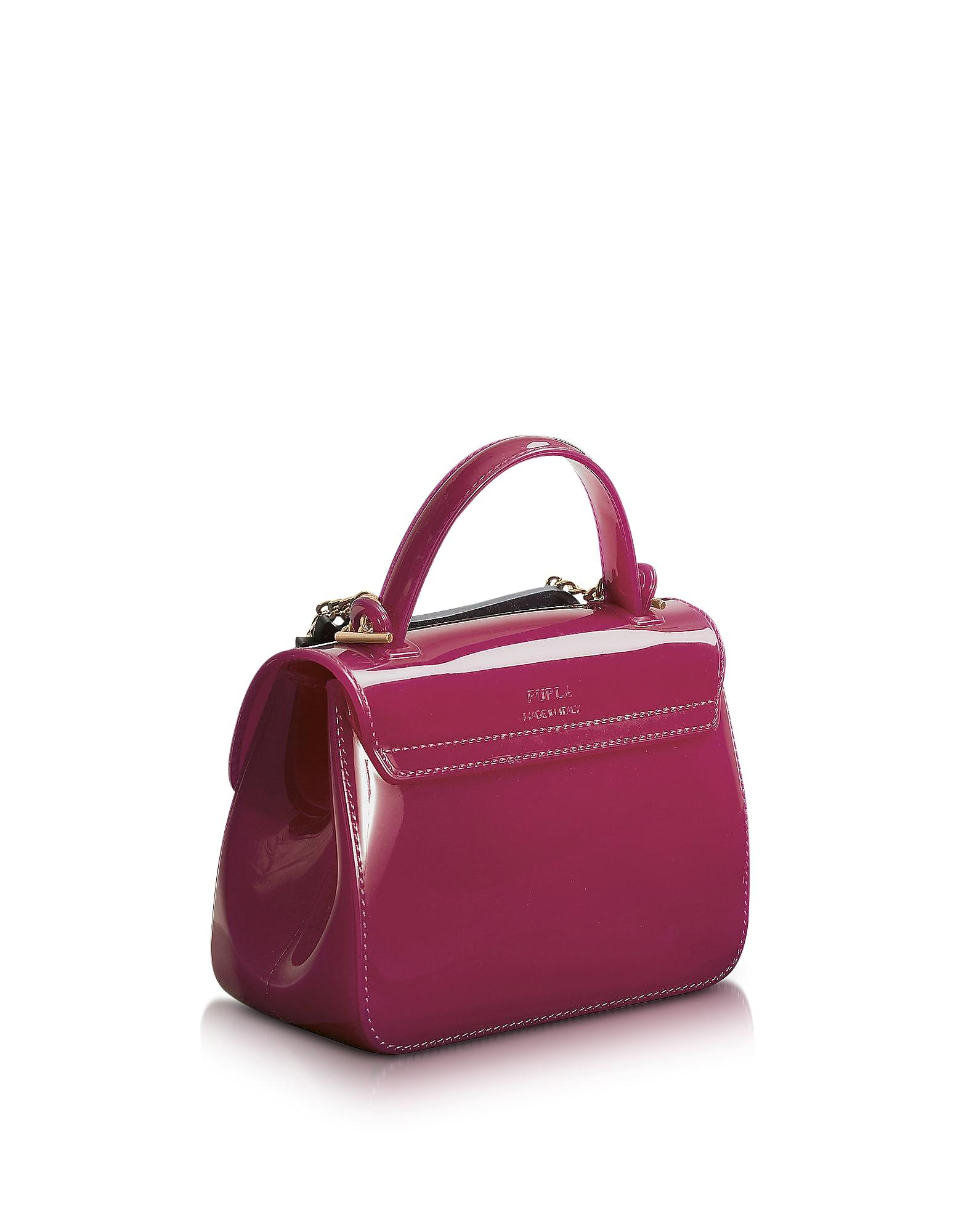 Lyst - Furla Candy Gang Sugar Mini Crossbody Bag in Purple