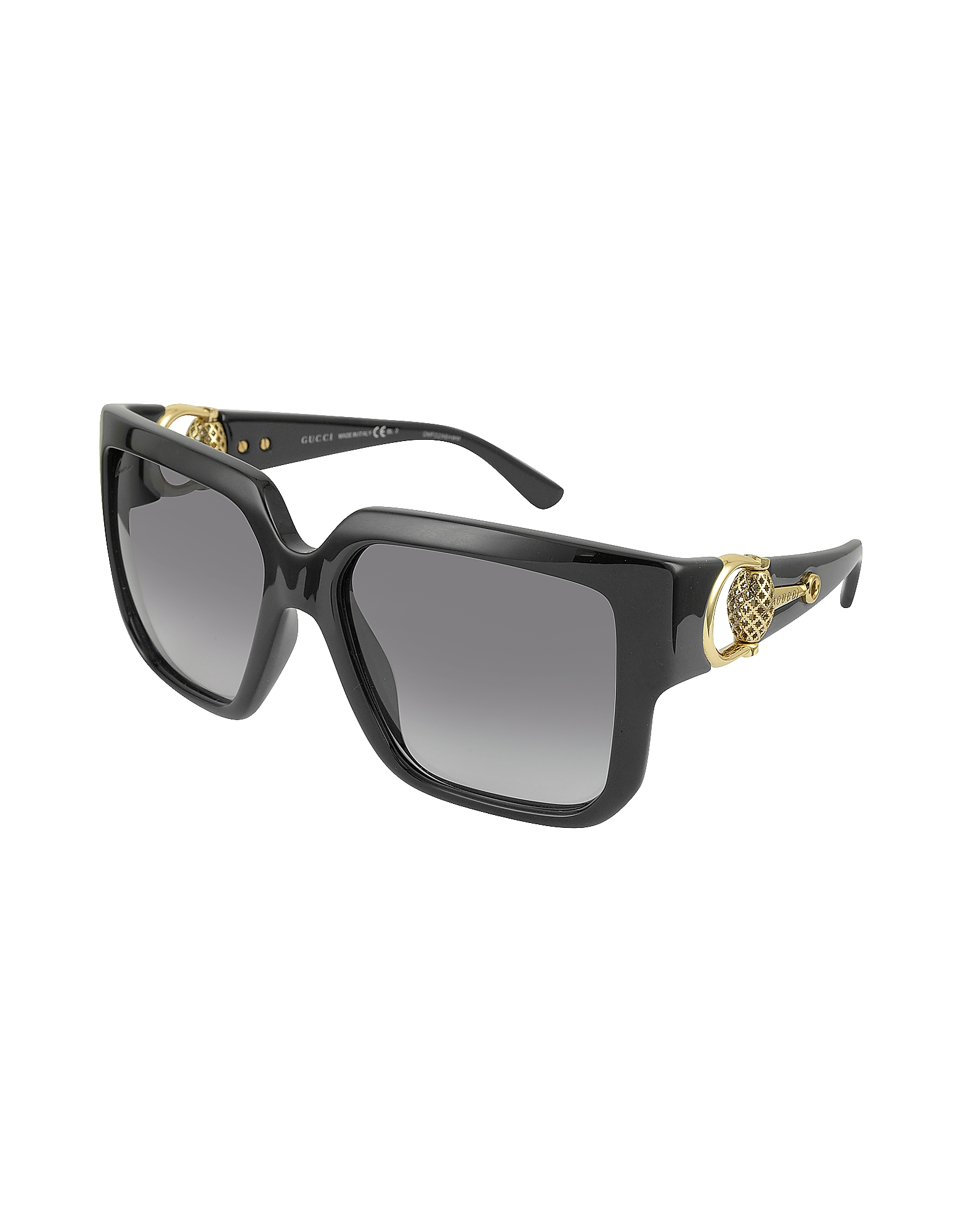 6451b2fb32 Gucci Oversized Sunglasses Black
