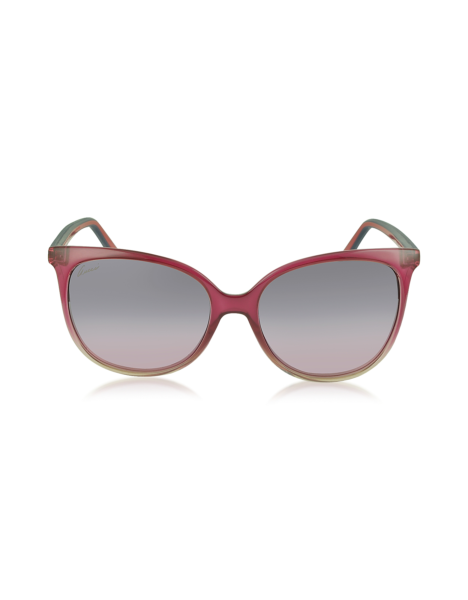 Lyst - Gucci Gg 3649/s Rubber Effect Web Cat Eye ...