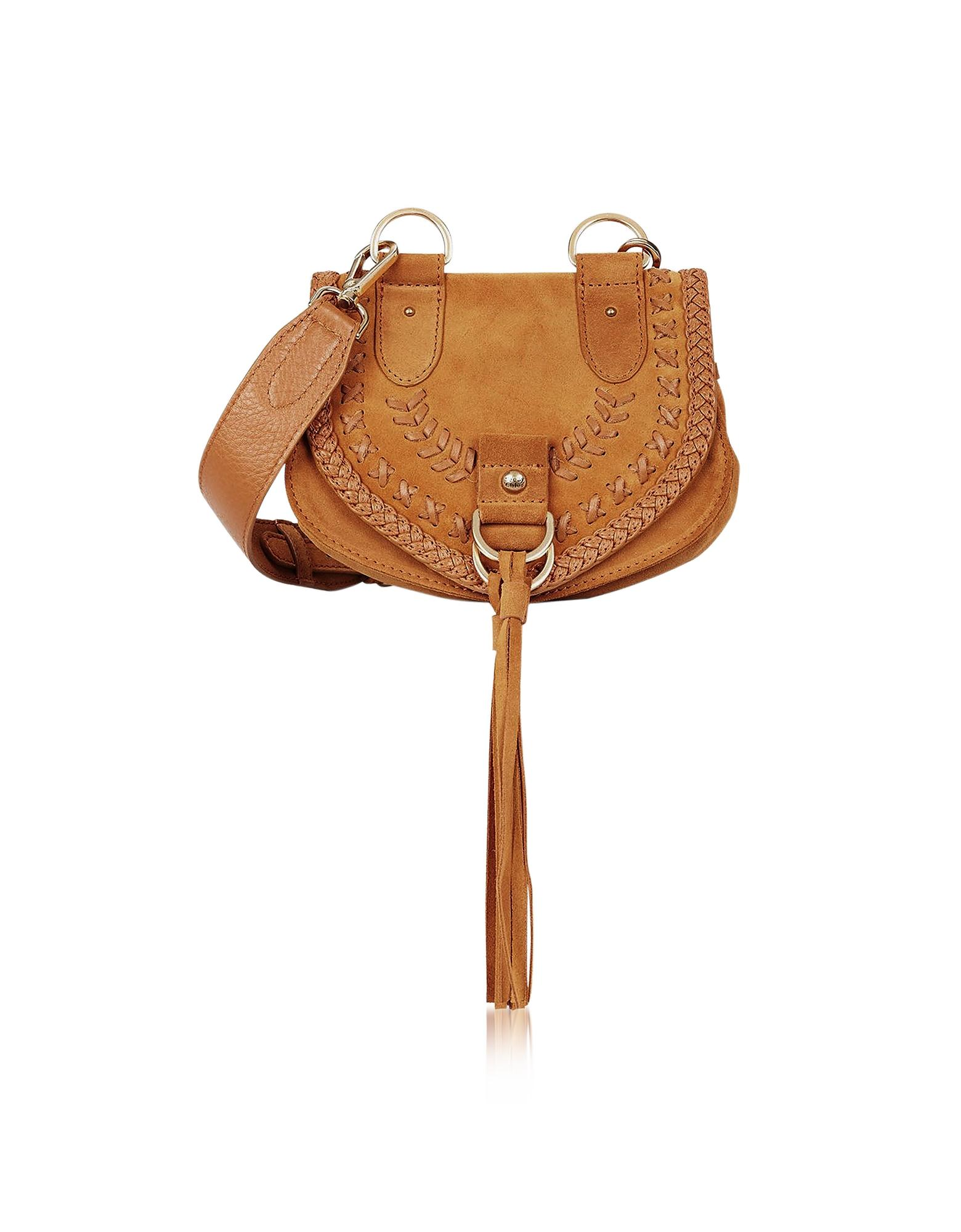 8808cd69b598 Lyst - See By Chloé Collins Passito Braided Leather   Suede ...