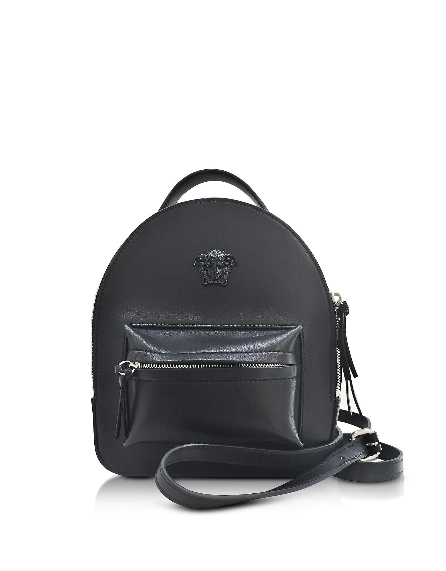 iphone text ringtone lyst versace palazzo black leather mini backpack in black 5862