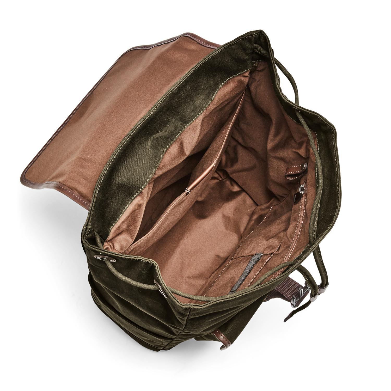 076daf6eb Lyst - Fossil Buckner Rucksack Bag Green in Green for Men