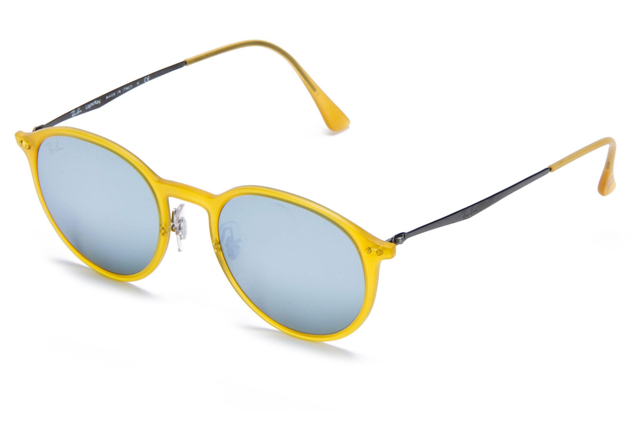 9e03a89f06 Lyst - Ray-Ban 4224 cl Yellow