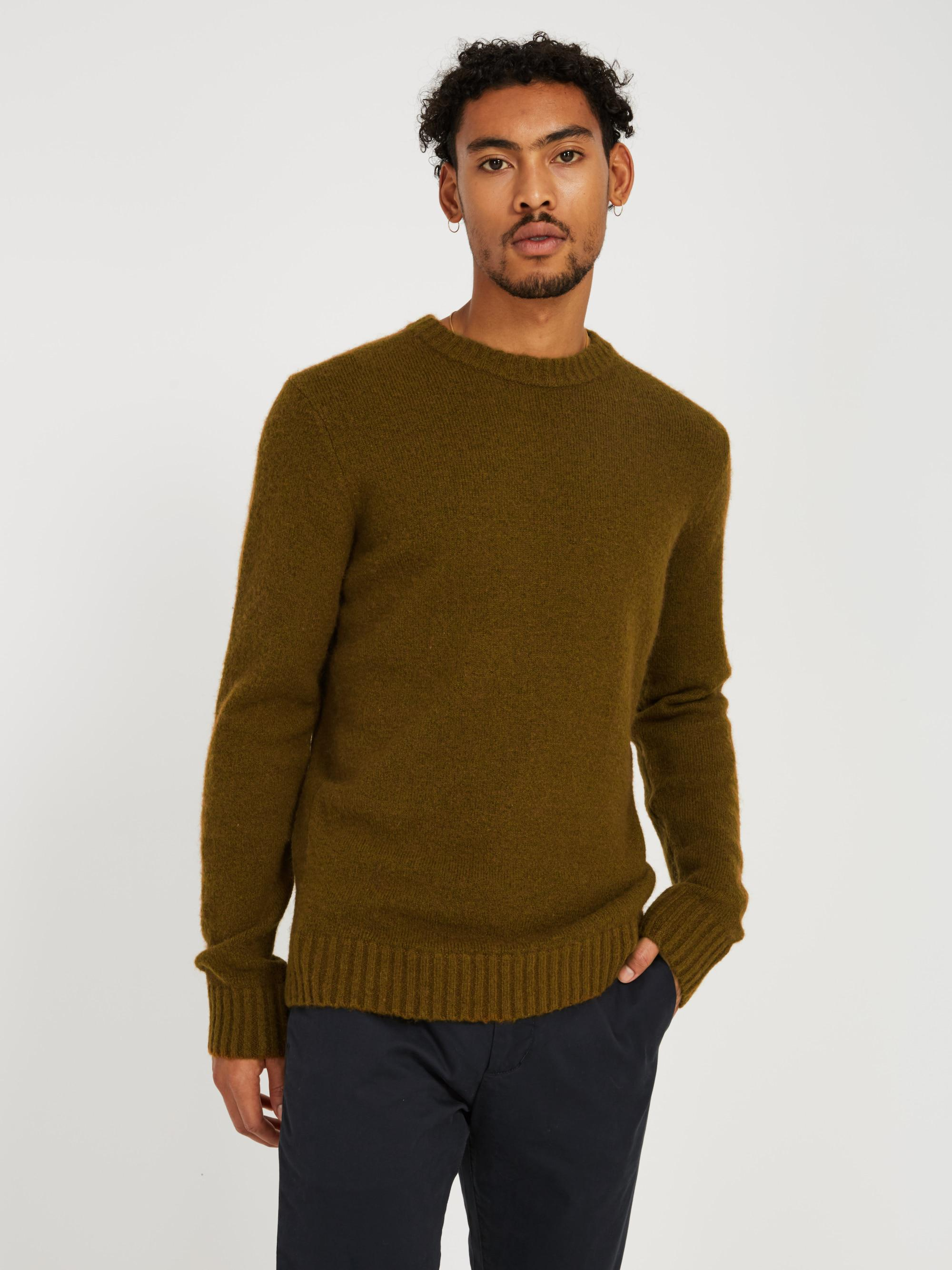 d13b8d951 Lyst - Frank And Oak The Nordique Multi-yarn Sweater- Green in Green ...