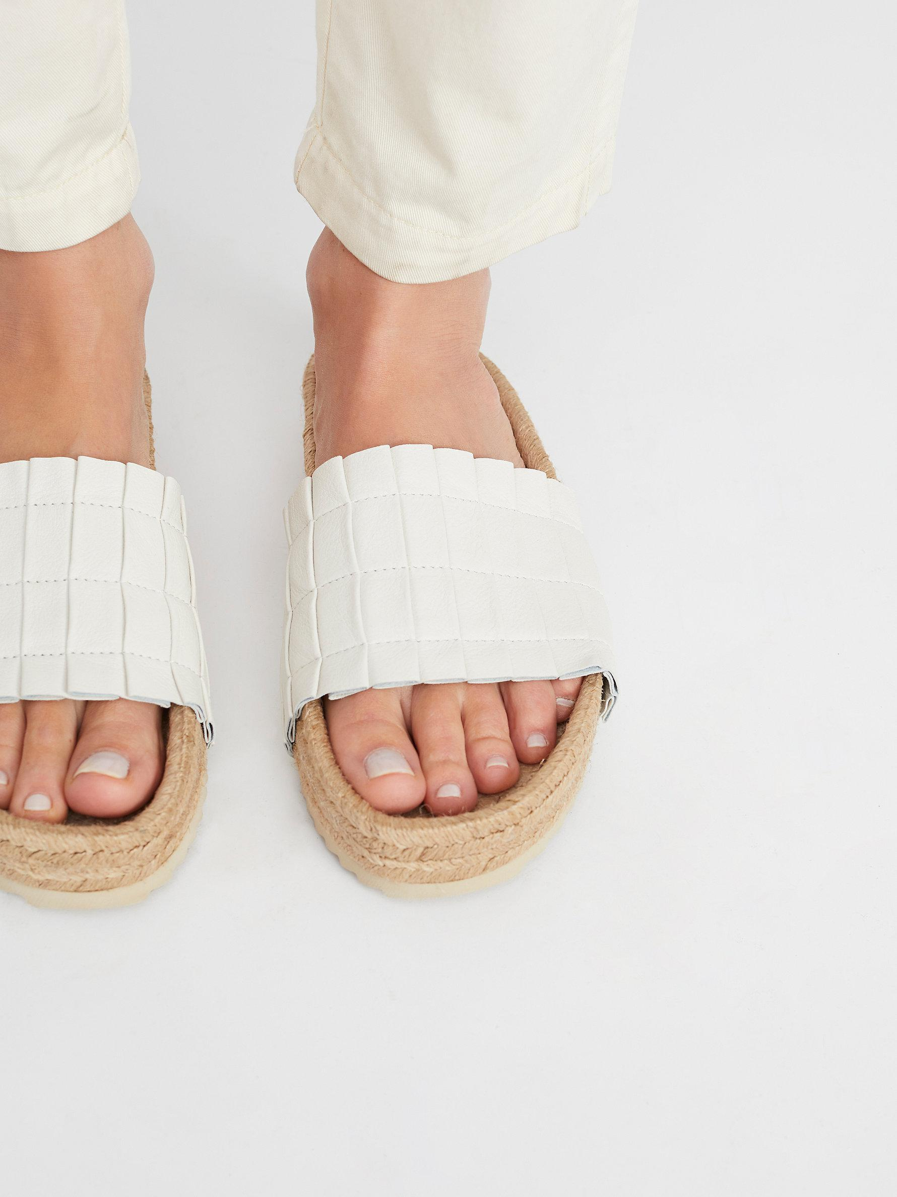 ca9ce6bd77f Lyst - Free People Island Time Espadrille Sandal in White