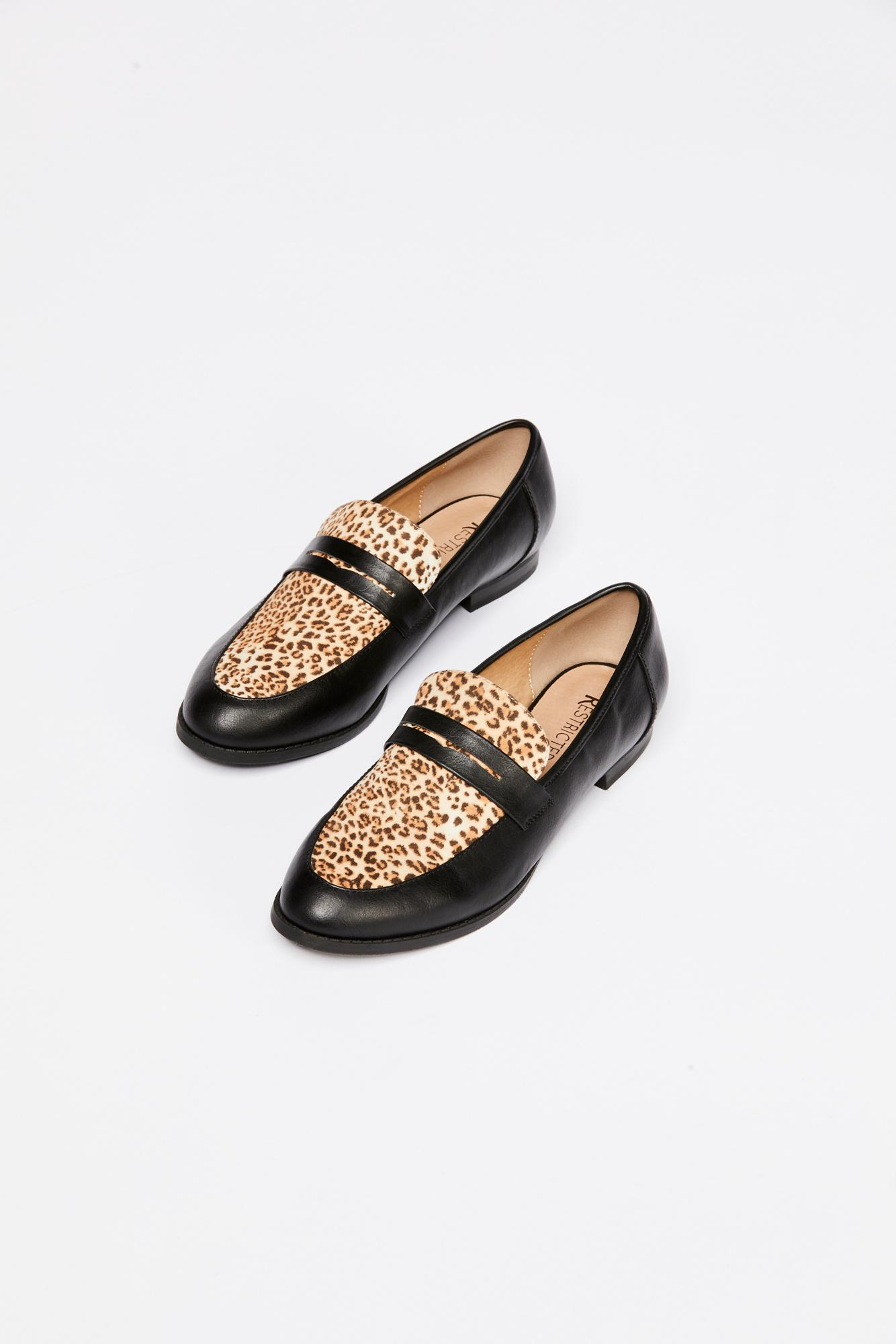 10f153b0468 Lyst - Free People Lou Lou Penny Loafer By Restricted in Black
